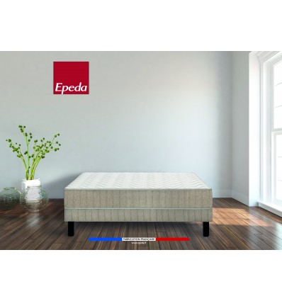 Pack Matelas Epeda Audace et Sommier Luire Coutil